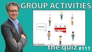 Group Activities - The Quiz #111