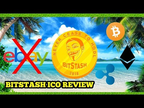 Bitstash ICO Review Crypto Marketplace using XRP as payment