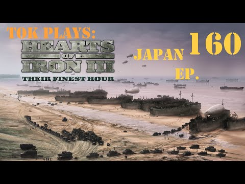 Tok plays HoI3 - Japan ep. 160 - Reinforcing The Lines