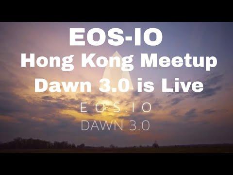 EOS IO Dawn 3.0 is LIVE - Presentation - Hong Kong Meetup 6 April 2018 -