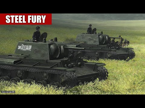 "Steel Fury Kharkov 1942 STA Mod ""Armor in action!"" KV-1 Tank"