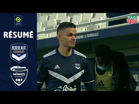 FC GIRONDINS DE BORDEAUX - NÎMES OLYMPIQUE (2 - 0) - Résumé - (GdB - NO) / 2020-2021