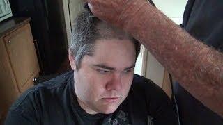 GRANDPA GIVES PICKLEBOY A HAIRCUT!
