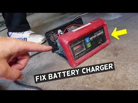 HARBOR FREIGHT TOOLS BATTERY CHARGER NOT WORKING. HOW TO REPAIR CHICAGO  TOOLS CEN-TECH - YouTubeYouTube