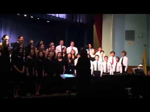 Tenafly middle school 8th grade winter concert 12/12/12