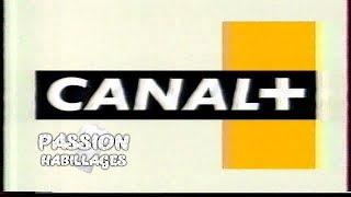 Canal + - Habillage 1995