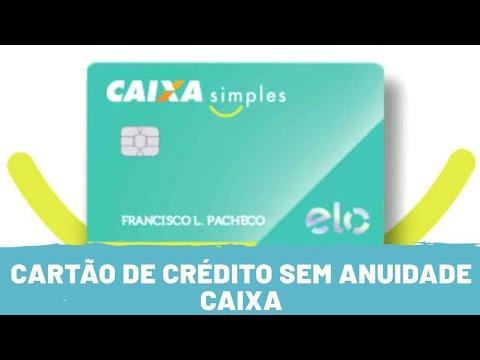 Cartão caixa simples sem anuidade e consulta ao SPC / SERASA