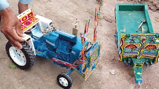 EXPERIMENT TRACTOR | Small Tractor Trolley Experiment Video | Adil Bata