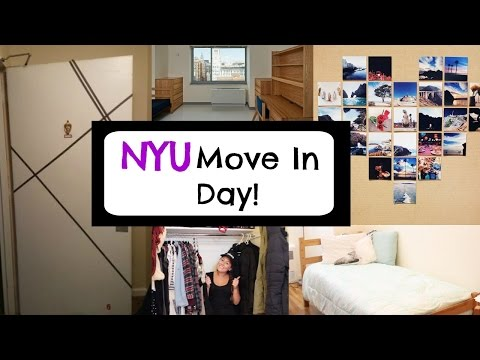 NYU Dorm MOVE IN DAY Vlog! | College Life