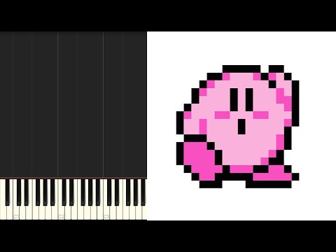 Kirby's Adventure | Vegetable Valley [NES] Synthesia