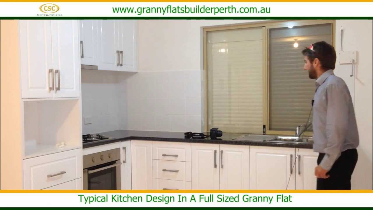 Bon A Typical Kitchen Design In A Full Sized Granny Flat