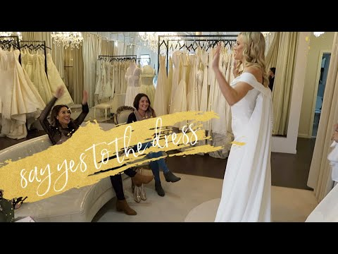 Style Blogger Goes Wedding Dress Shopping | Say Yes To Dress