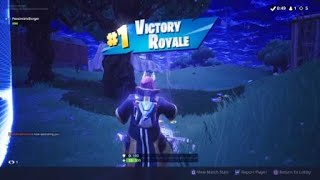 My first Fortnite (Solo) win. (No one really cares though)