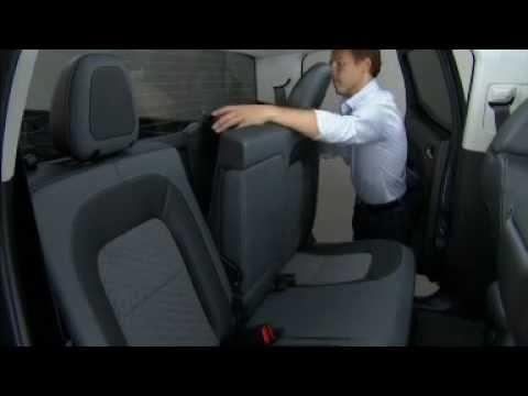 Chevrolet Colorado Rear Seat Operation - YouTube