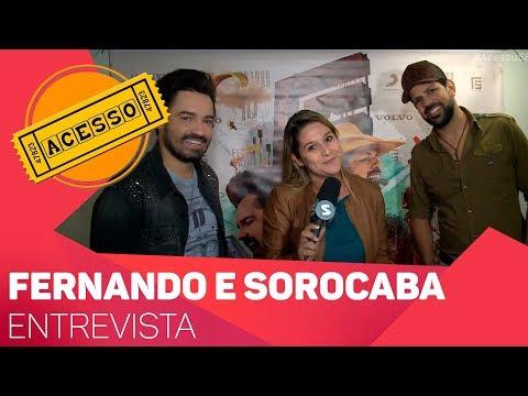 Entrevista com Fernando e Sorocaba - TV SOROCABA/SBT