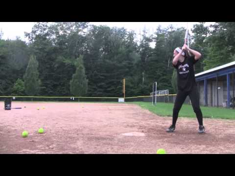 Lauren O'Neill softball skills video class of 2017