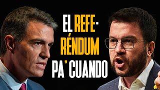 EL REFERÉNDUM PA' CUANDO?   Mesa de Diálogo con Cataluña   PEDRO SÁNCHEZ vs PERE ARAGONÈS   PARODIA