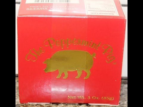 Saratoga Sweets Candy Co. The Peppermint Pig - History & Review