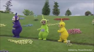 Teletubbies Jumping Dance on Path