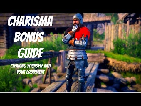 Kingdom Come: Deliverance EASY Charisma BONUS - Cleaning Yourself and Equipment Guide