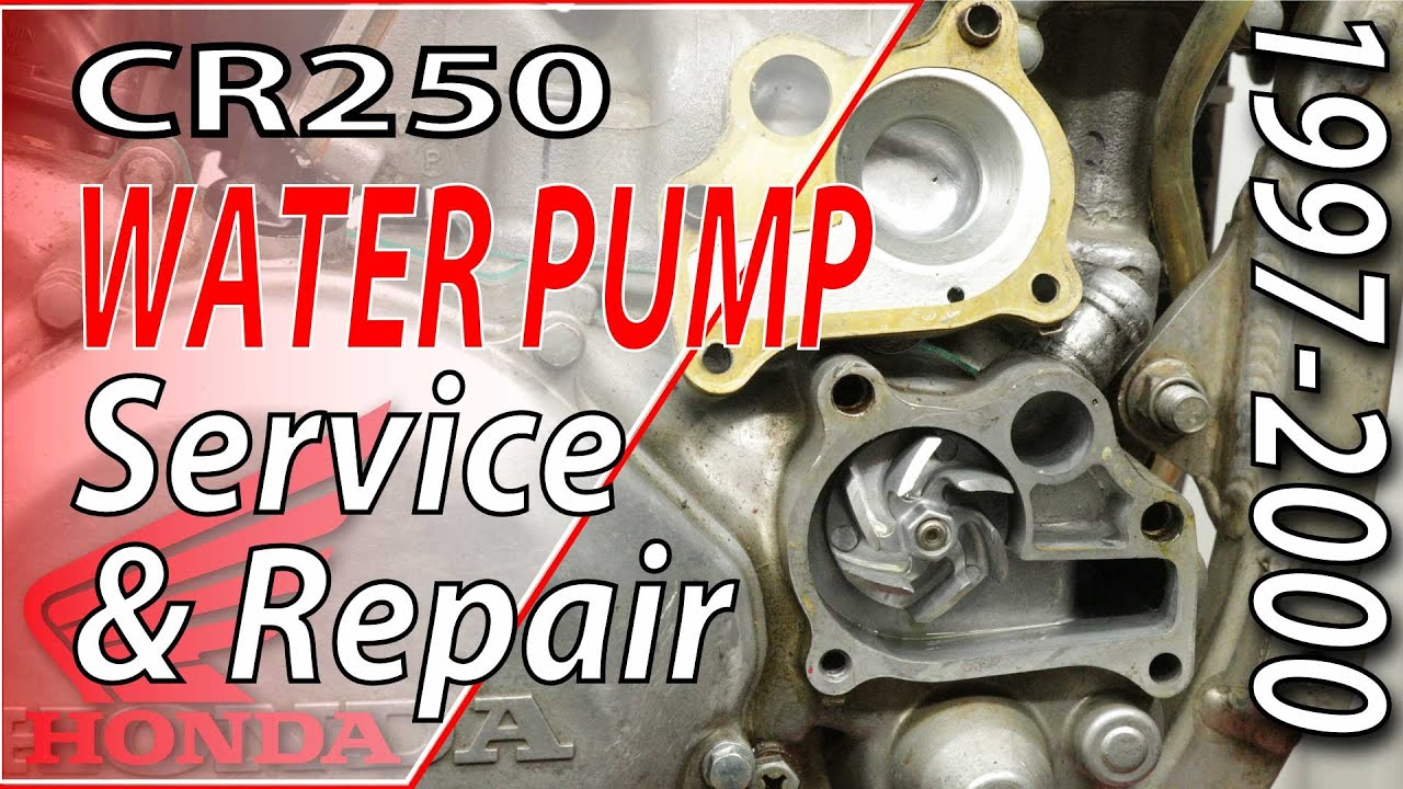 1997-2001 Honda CR250 - Water Pump Service & Repair | FixYourDirtBike