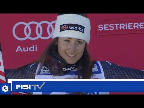 Highlights | Sofia Goggia inarrestabile anche al Sestriere