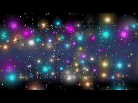 4K 60fps ALL COLORS - Moving Background ANIMATED WALLPAPER - Bokeh Particles 2160p #AAVFX
