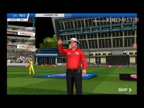 South Africa vs Australia close encounter  -ICC pro cricket
