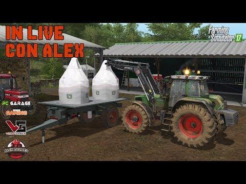 AGRI OC MAP, CHIACCHIERE E GIOCO SU FARMING SIMULATOR 17 - ALEXFARMER