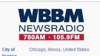 WBBM 780 WCFS 105.9 NewsRadio WBBM Chicago/Elmwood Park, IL TOTH ID at 2:00 a.m. 8/23/2014