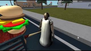 ผีคุณยายแกรนนี่ชอบกินแฮมเบอร์เกอร์ - Roblox Granny , [พี่อู๊ด wutpia]
