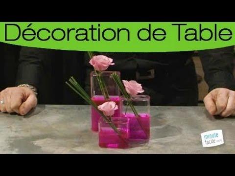 astuces expert choisir et pr parer un centre de table youtube. Black Bedroom Furniture Sets. Home Design Ideas