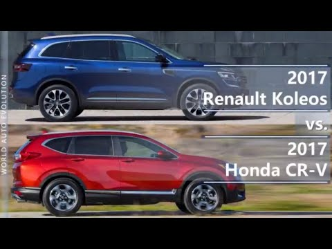 2017 Renault Koleos vs 2017 Honda CR-V (technical comparison)