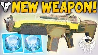 Destiny 2: NEW ENGRAM WEAPON! Refrain 23 Suros Auto Rifle, Bonus Damage Perk & Secret Cryptarch Room
