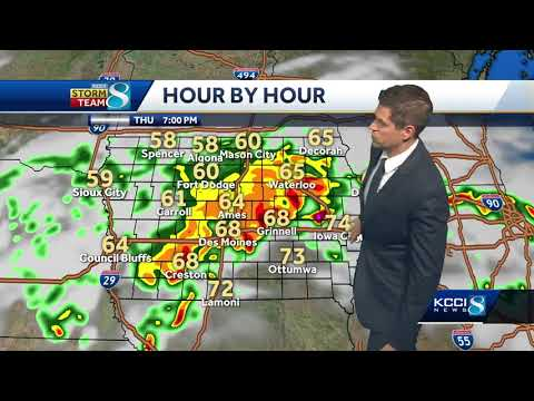 Videocast: Foggy start, chance for severe storms ahead