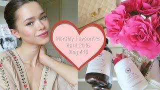 April 2016 Favourites: Glow Powder, Collagen Boost, NYX, Vitamins, DVF Vlog #10