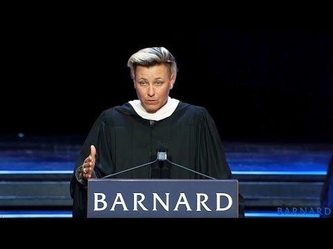 Abby Wambach's commencement message to women: 'We are the wolves'
