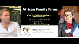 What Family Firms have learnt from COVID-19 with David Hawkins and Irina Curbelo