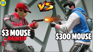 $3 Mouse Vs $300 Mouse in Siege