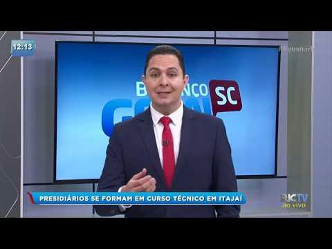 Presidiários se formam em curso técnico em Itajaí
