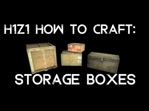 Storage container h1z1