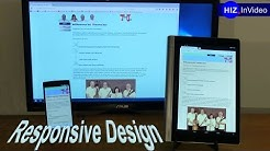 Responsive Design - wenn Webseiten sich anpassen – HIZ078