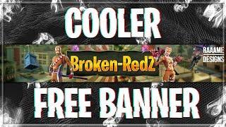Free Banner for Broken Redz | Fortnite Theme | raaame - Designs