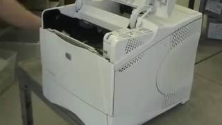 Fixing a paper jam on the hp color laserjet pro mfp m277dw hp