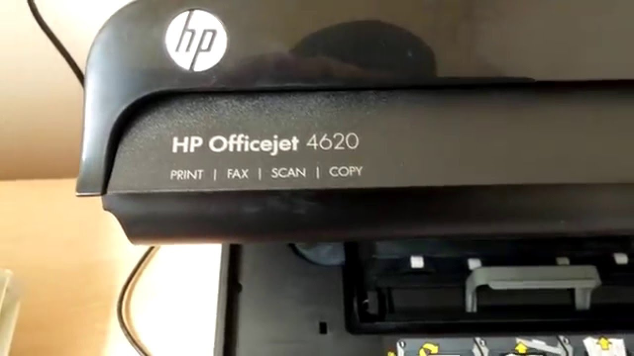quick fix for hp officejet 4620