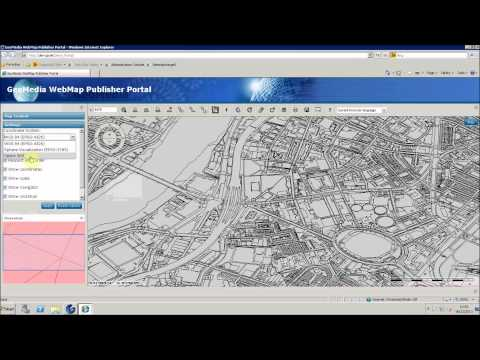 GeoMedia WebMap: How To Configure Workpaces in the Publisher Portal