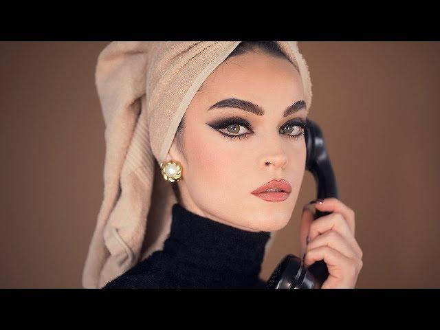 ICONIC Sophia Loren - Cat Eye Make-up Look from Arabesque
