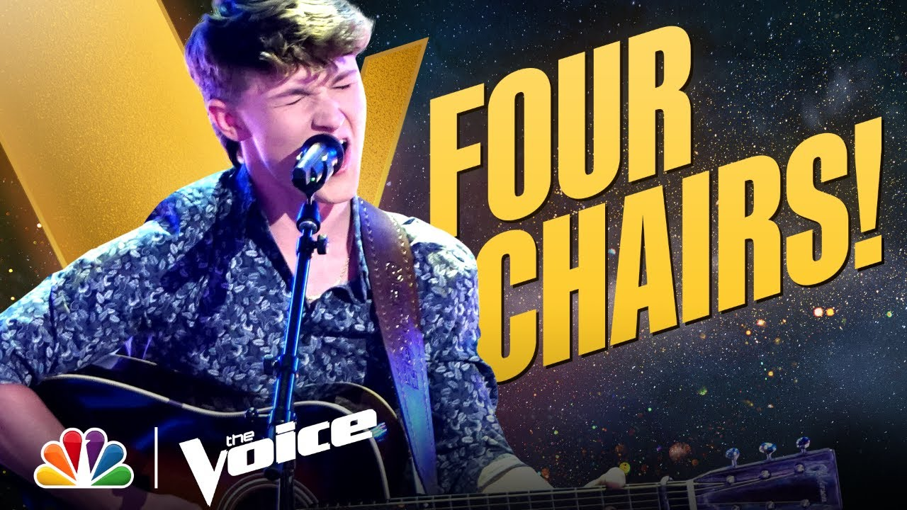 """Download A Four-Chair Turn as Carson Peters Performs Don Williams' """"Tulsa Time"""" 