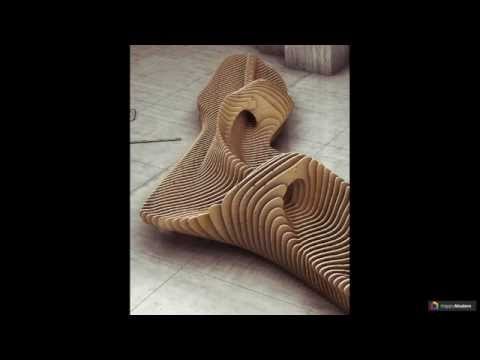 Скамейки из дерева: 53 модели