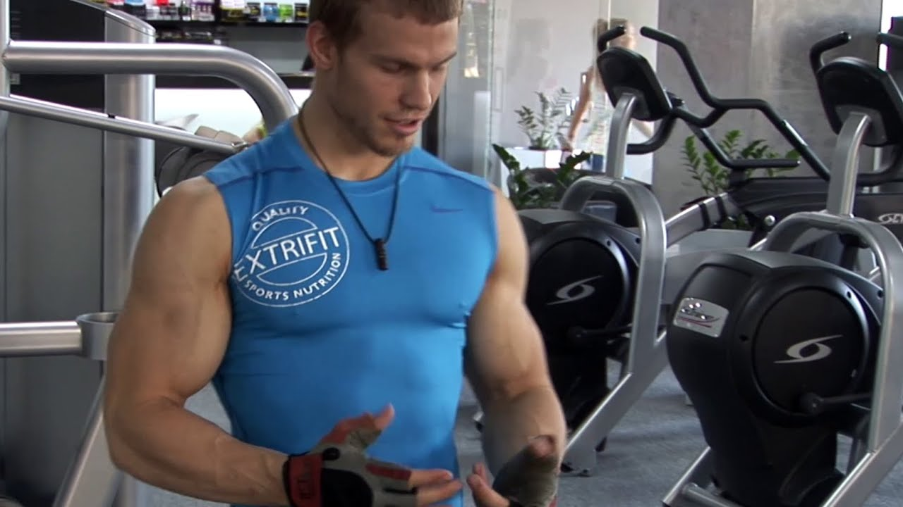 Junior Bodybuilder David Prikop - Training 2015 - part 1